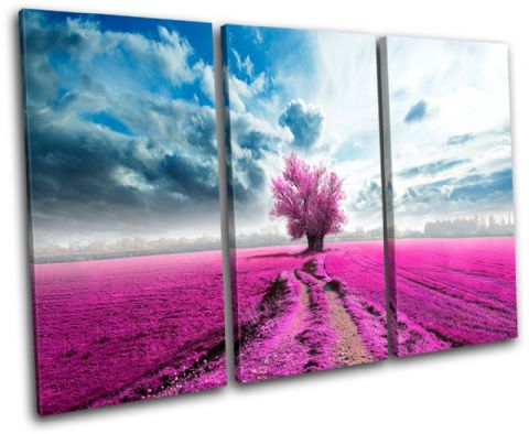 Surreal Tree Pink Landscapes - 13-0580(00B)-TR32-LO